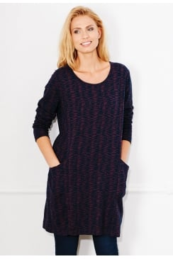 VALLY PEMBERTON WEAVE TUNIC