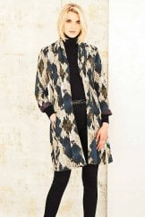 VIVIENNE JACKET DRIFT WOOD PRINT