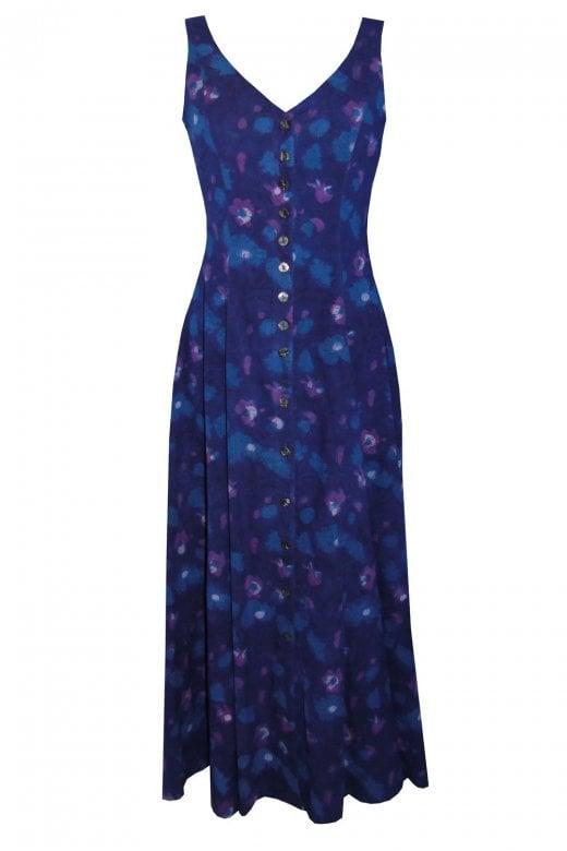Anokhi PURPLE PALERMO TAILORED DRESS