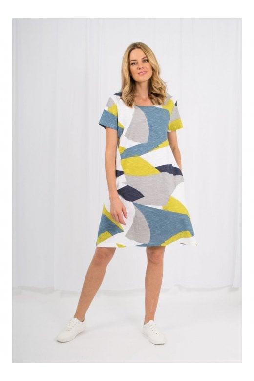 Capri Clothing ANYA  PRINT DRESS