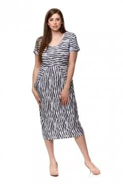 ARCH STRIPE DRESS