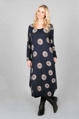 COCOON NAVY DRESS