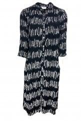 CORA STRIPE SHIRT DRESS