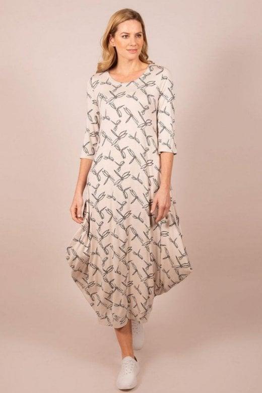 Capri Clothing DRAGONFLY DRESS