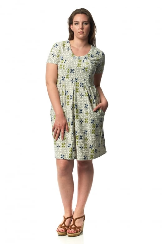 Capri Clothing LISBON PRINT DRESS