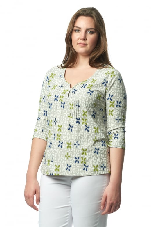 Capri Clothing LISBON PRINT TOP