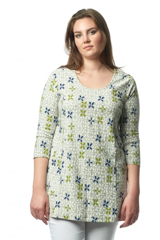 Capri Clothing LISBON PRINT TWO POCKET TUNIC