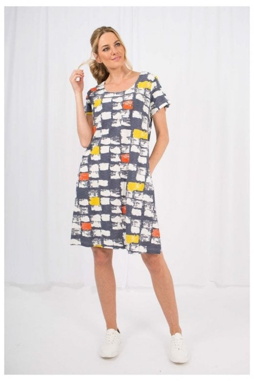Capri Clothing MACY PRINT DRESS