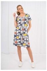 MACY PRINT DRESS