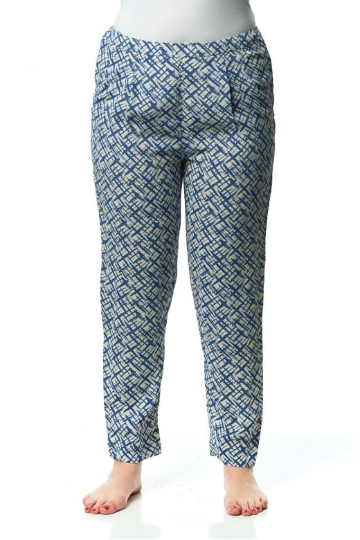 Capri Clothing MUNICH PRINT TROUSER