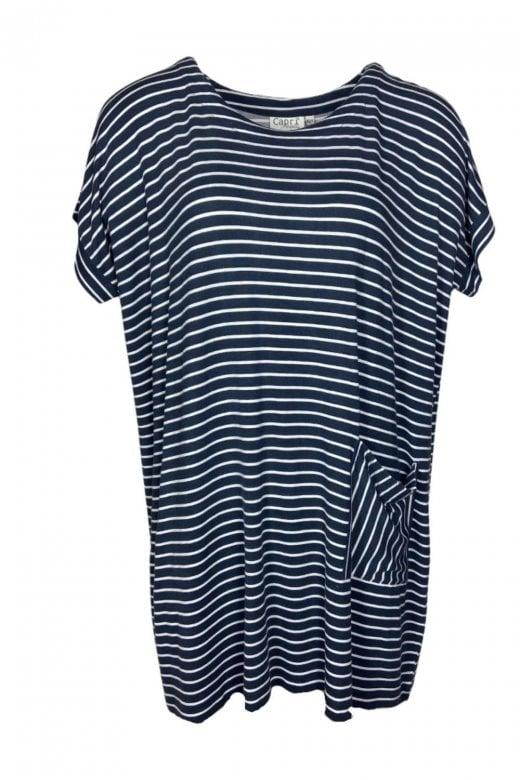 Capri Clothing NARROW STRIPE TUNIC