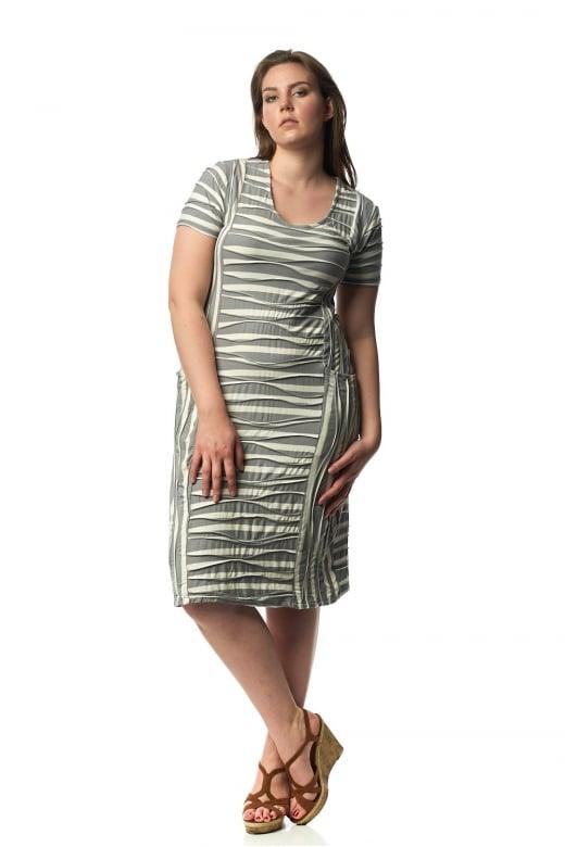 Capri Clothing NEVADA SHORT SLEEVE DRESS