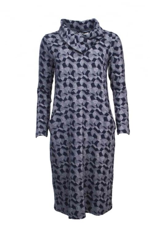 Capri Clothing PATCHWORK JERSEY DRESS