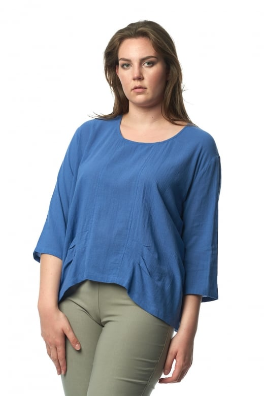 Capri Clothing PLEATED TOP
