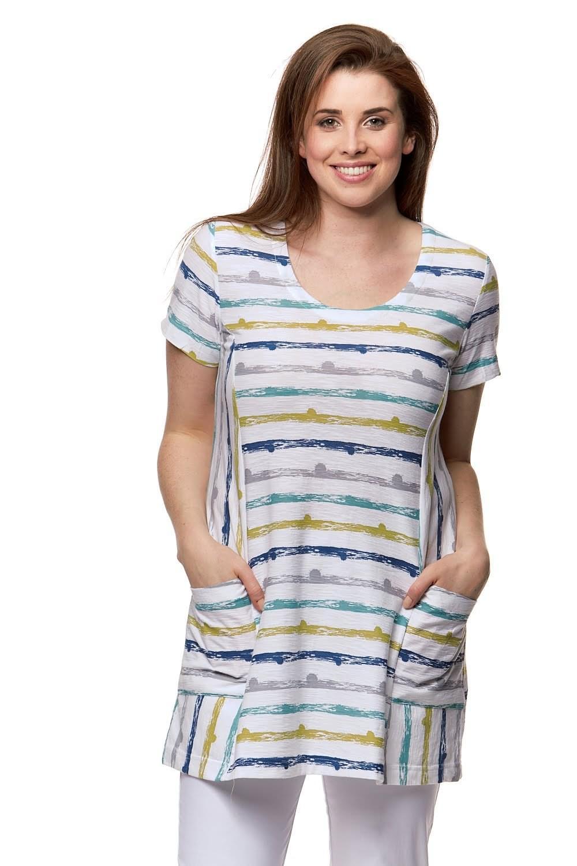 f9548cbccd532d Capri Clothing SHORT SLEEVE TUNIC - Capri Clothing from Sariska UK