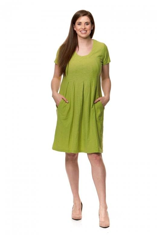 Capri Clothing SOLID JERSEY DRESS