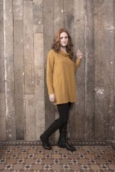 SOLID SLUB TUNIC
