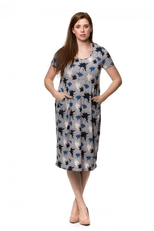 Capri Clothing SPLATTER DRESS