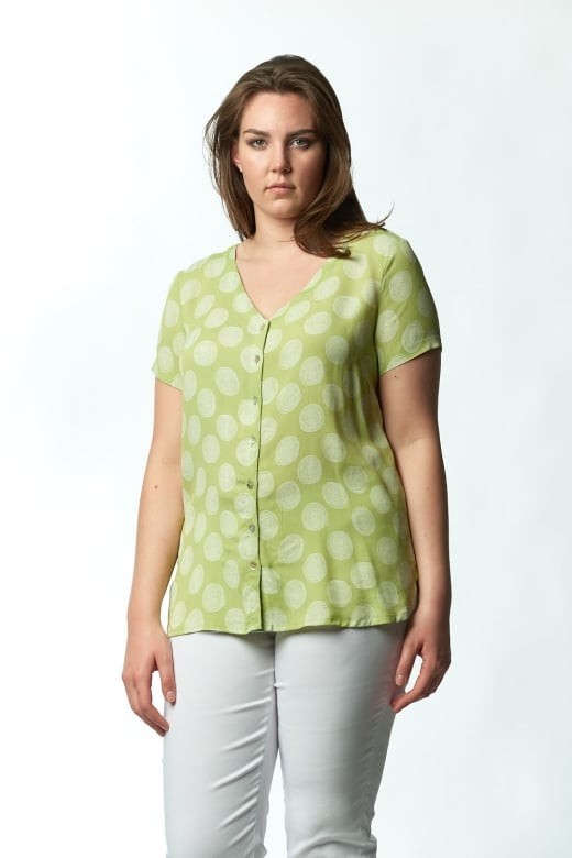 Capri Clothing SWIRL TOP