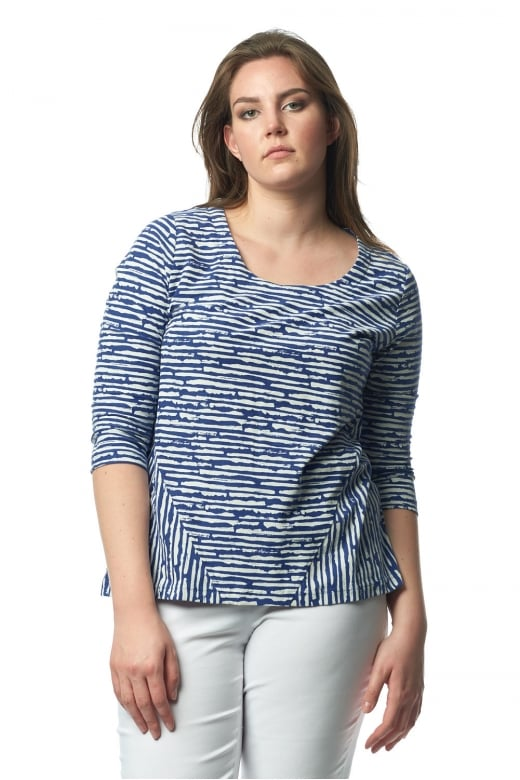 Capri Clothing WHITBY STRIPE TOP
