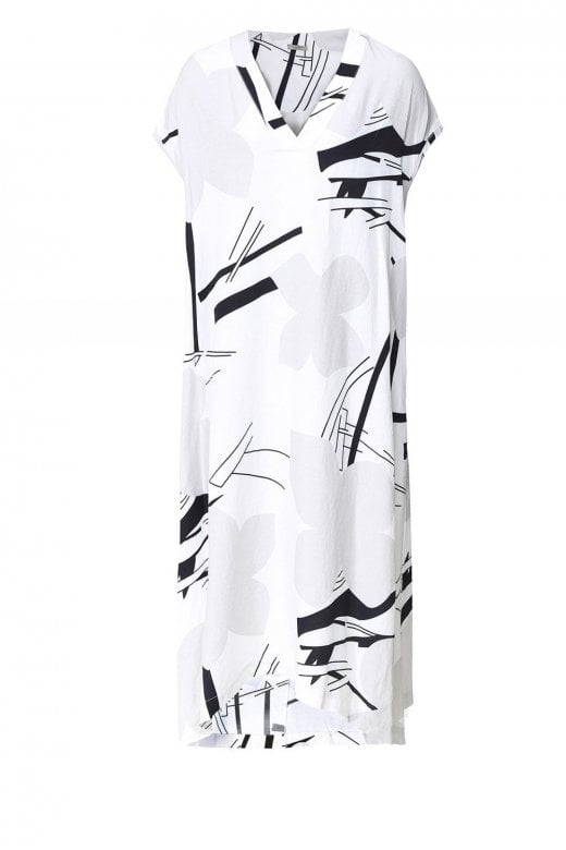 Crea Concept ABSTRACKET FLOWER DRESS