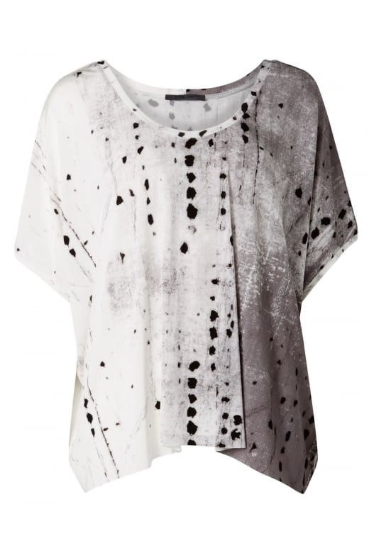 Crea Concept ABSTRACT SPOT PRINTED TOP