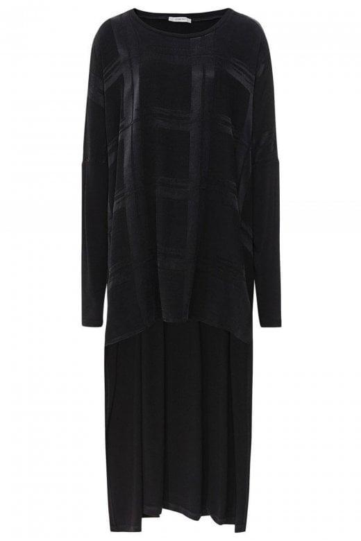 Crea Concept Black Checked Tunic