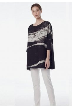 MARBLE PAINT TUNIC