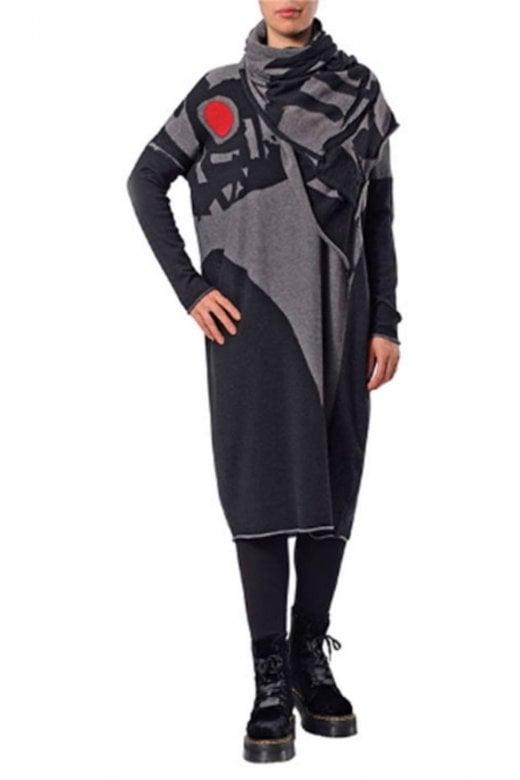 Crea Concept MERINO WOOL LONG SLEEVE DRESS