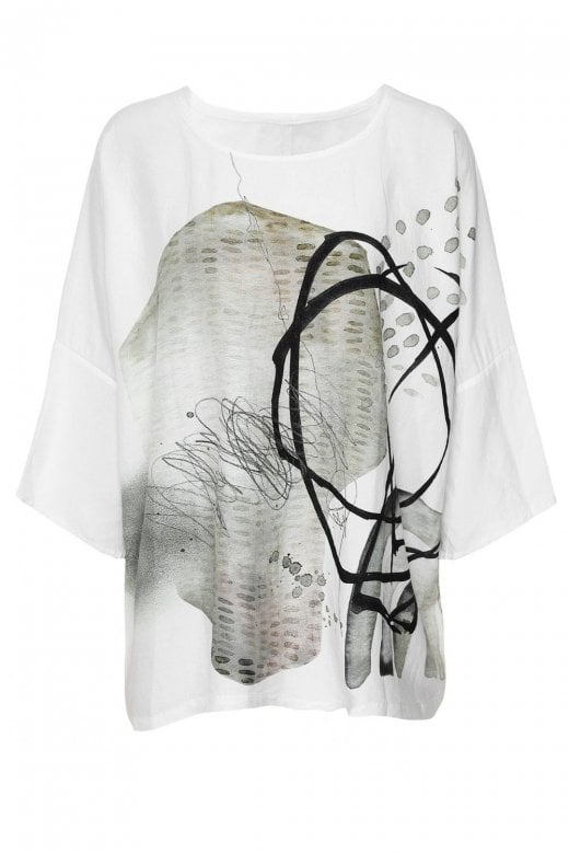 Crea Concept OVERSIZED ABSTRACT TOP