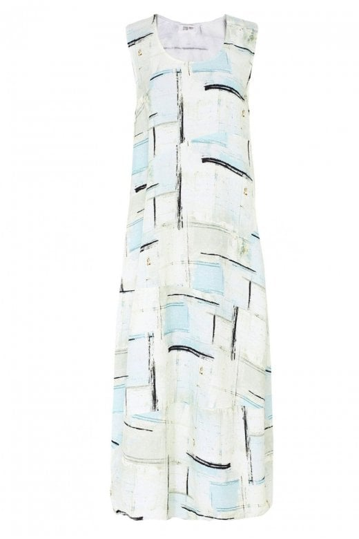 Crea Concept SLEEVELESS LINEN DRESS