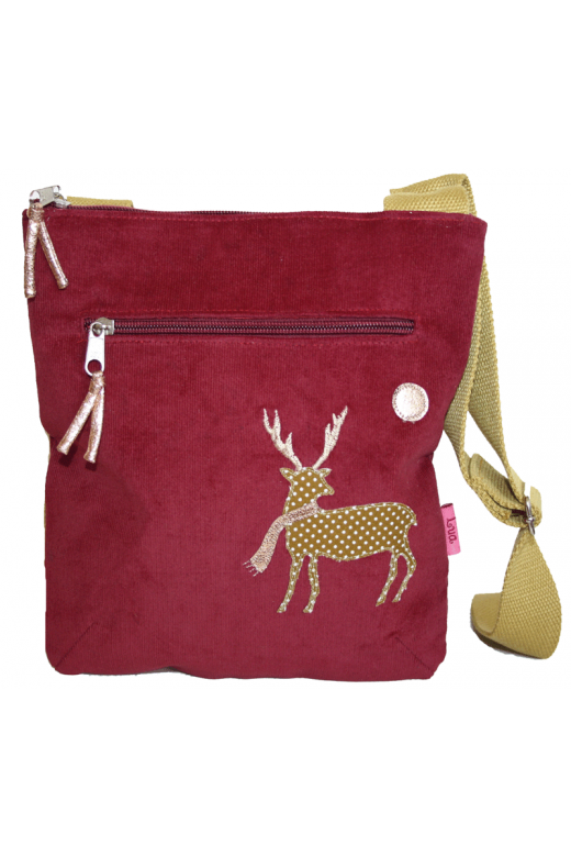 LUA DEER MOON MESSENGER BAG