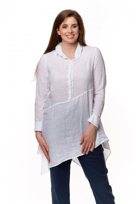 Grizas ASSEYMETRIC LINEN TUNIC