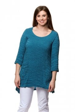 ONE POCKET 3/4 SLEEVE TUNIC