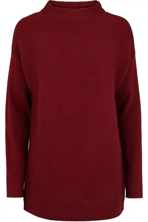 Intown LONG SLEEVE HIGH NECK PULLOVER