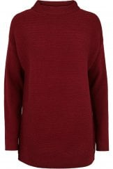 LONG SLEEVE HIGH NECK PULLOVER