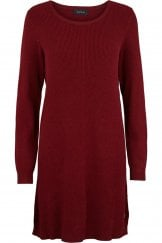 ROUND NECK LONG LINE PULLOVER