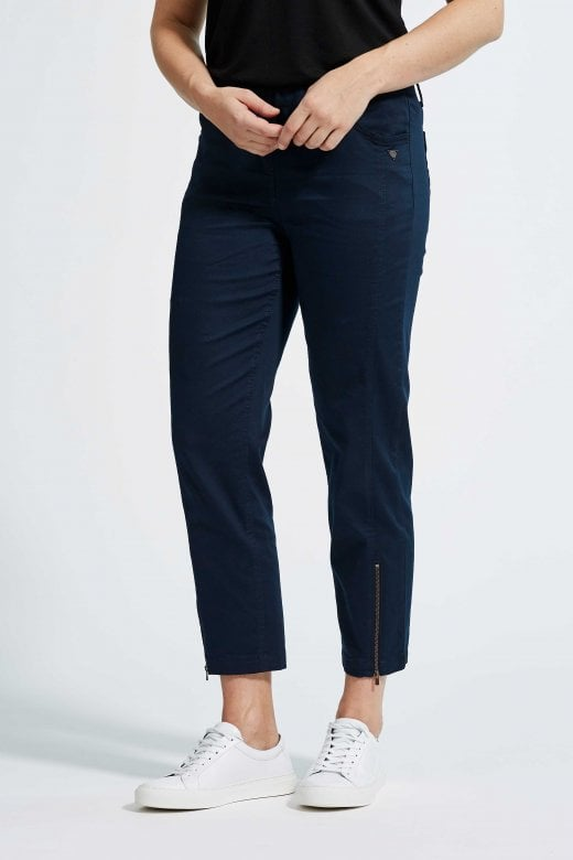LAURIE TROUSERS PIPER REGULAR CROPPED TROUSERS