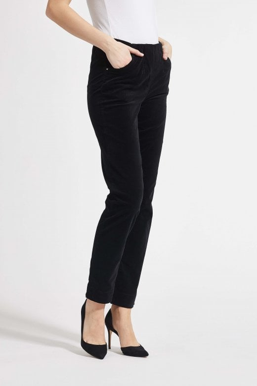 LAURIE TROUSERS VELVET KELLY REGULAR TROUSER