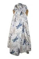 CHIC DRAGONFLIES SCARF
