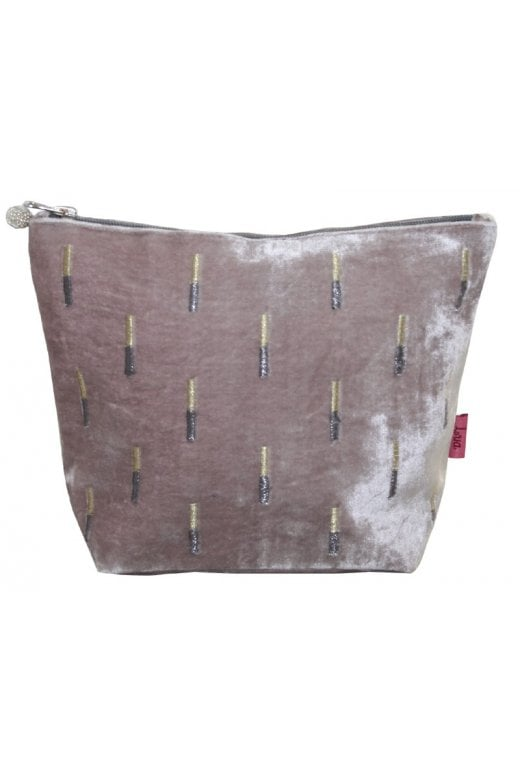 LUA EMBRIODERED STICKS LARGE COSMETIC PURSE