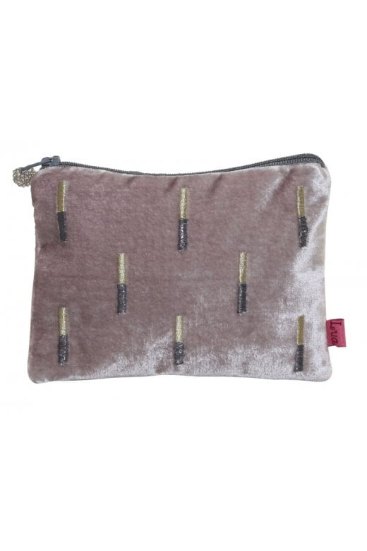 LUA EMBROIDERED STICKS PURSE