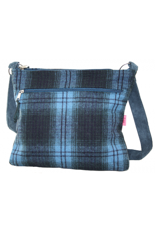 LUA LARGE MESSENGER BAG CHECKS