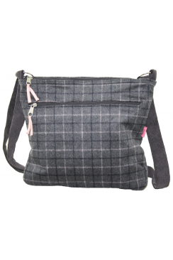 LARGE MESSENGER BAG CHECKS