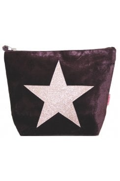 LARGE STAR COSMETIC PURSE