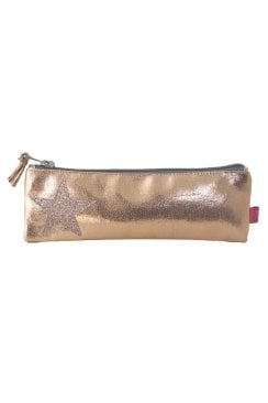 METALIC STAR PEN/ COSMETIC PURSE