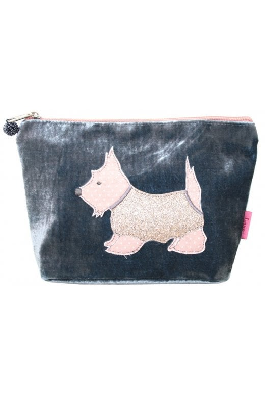 LUA SCOTTIE DOG COSMETIC PURSE