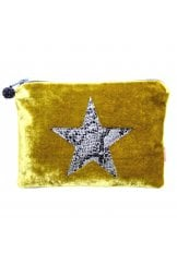 SNAKESKIN STAR COIN PURSE