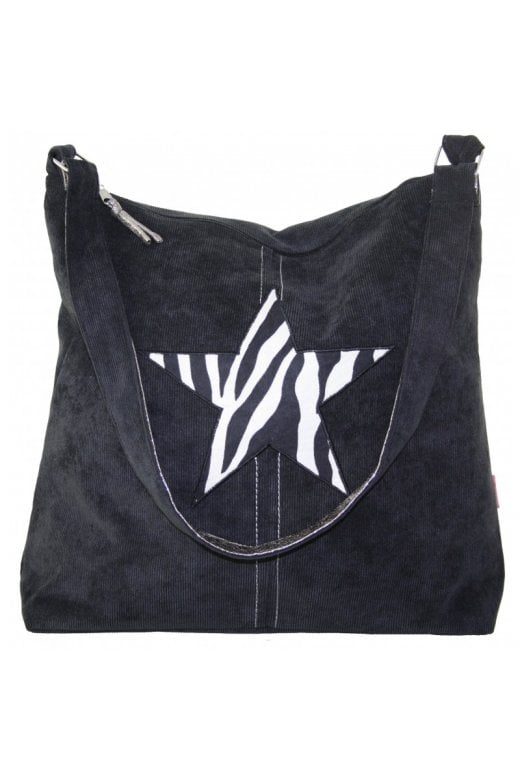 LUA STAR SHOULDER BAG ZEBRA PRINT