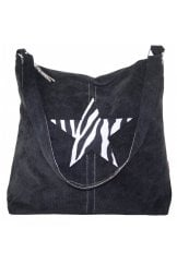 STAR SHOULDER BAG ZEBRA PRINT